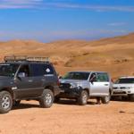 raid dans le desert marocain
